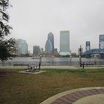 Southbank Riverwalk View of Dowmtown Jacksonville