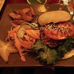 Carribean Chicken Burger