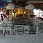 Bol doré au Manuha Temple