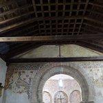 Arc with frescos