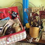 Vintage craft items always available at Quality Junk