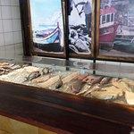 Fresh fish at O Portuga