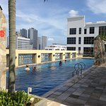 The rooftop pool. Very refreshing.