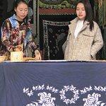 Tianlong Ancient Castle, wax painting shop