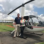 Kevin, my Great, Funny Pilot and I!! AMAZING TRIP