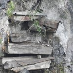More coffins at another Sagada location