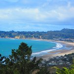 Stinson Beach from above.