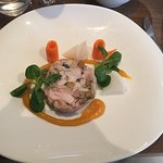 Starter - Chicken and rabbit Roulade