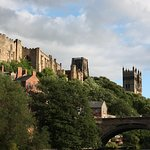 Durham, Durham Cathedral to the right