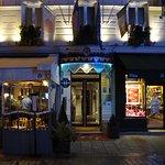 Front Entrance to Grand Hotel Leveque Paris