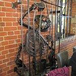 Weird and wonderful metal sculpture (1)