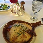 This is HALF of the Hot Brown.