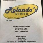 Billede af Rolando's Diner