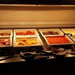 Breakfast buffet in Mercure Southampton