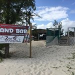 Sand Bar...location and bar specials attract!