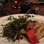 Beef Tenderloin with Bacon Gorgonzola Potatoes