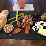 Charcuterie and Shirley Temple