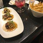 Asian Tacos & Garlic Fries