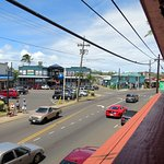 Views of the main drag of Kapaa