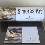 Complimentary s'mores kit