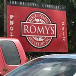 Romy's sign