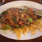 Deep Fried Whole Tilapia