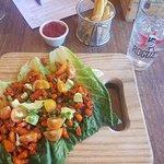 yam lettuce wraps
