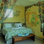 Beautiful, peaceful, bright bedrooms.