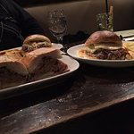 this is a Cuban sandwich and Pan con lichon. Not that great