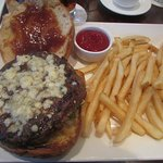 Tommy Bahama Burger with French Fries ... Open