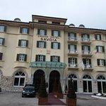 Storico  e simbolico Hotel  di  Cortina