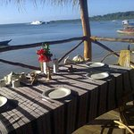 enjoy a meal in our restaurant overlooking the harbor