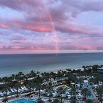 Awesome Sunset Rainbow from hotel room