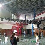 Dinosaur at main entrance