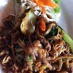 Noodle dish at Wild Rice Thai Cuisine