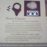 Kingsley Plantation Info Sign-Slaves' House Charms