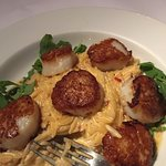 Seared scallops were the best I've ever had