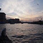 Crossing the Dubai river with Nada