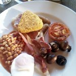 Scrumptious full english - Could of eaten another!!