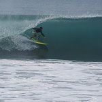 Your surf instructor frontside in Mexico!