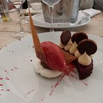 fondant chocolat-framboise