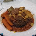 cous cous di carne e verdure