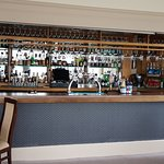 Exellently stocked Bar. If you like Gin or Whiskey you'll love the many different types.