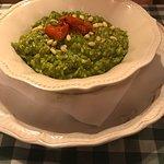 Risotto al Pesto e Pinoli