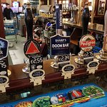 Real ales at competitive prices