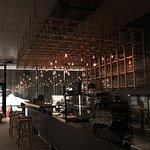 Bar und Restaurant Bereich