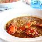 Restaurante HPC Portocolom. Arroz caldoso con bogavante