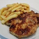 Pork Chops + Chips