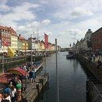 Canal way in København