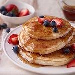 pancake preparados en el momento.